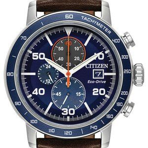 Citizen Chrono Blue Multi Dial 44mm Watch
